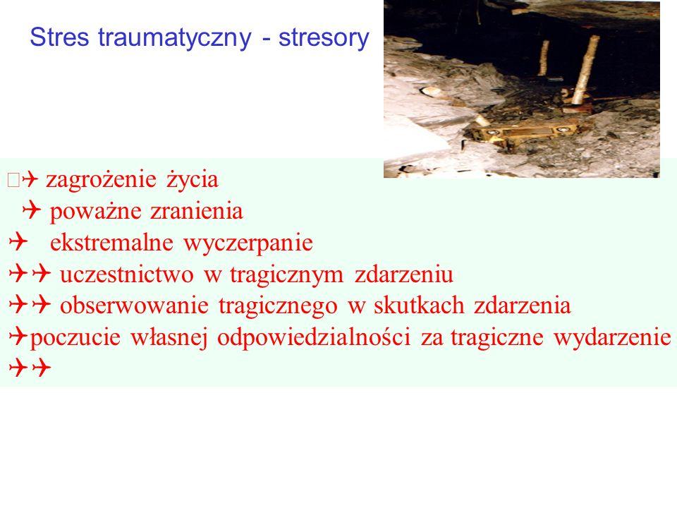 Stres traumatyczny - stresory