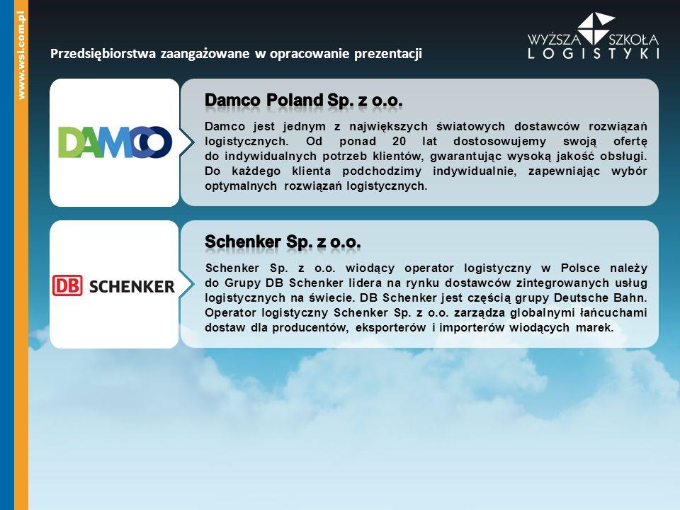 Damco Poland Sp. z o.o. Schenker Sp. z o.o.