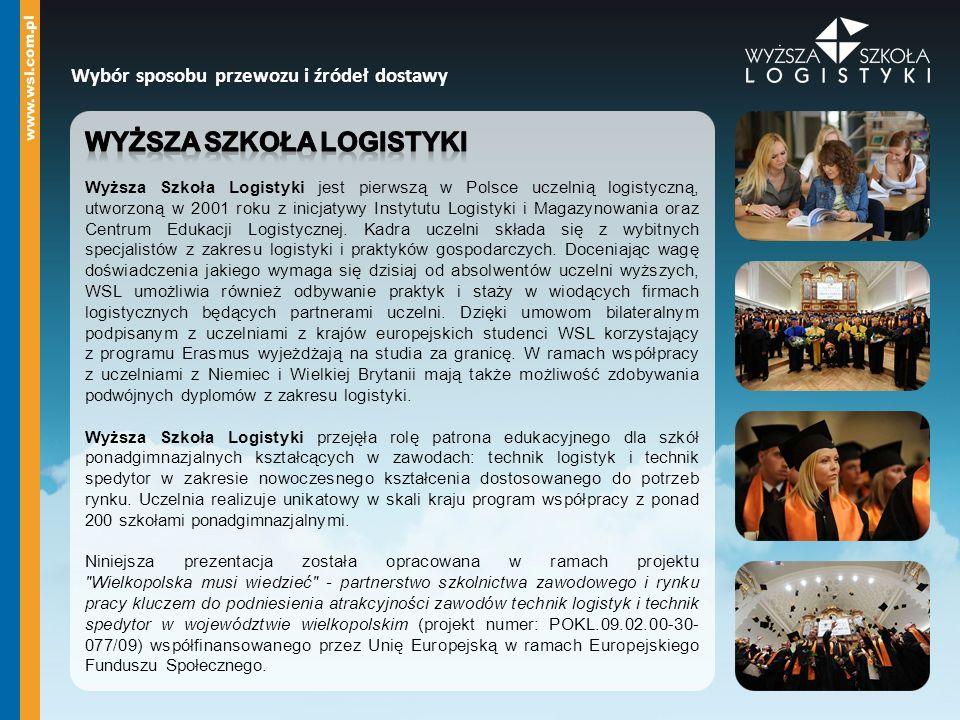 Wyższa Szkoła Logistyki