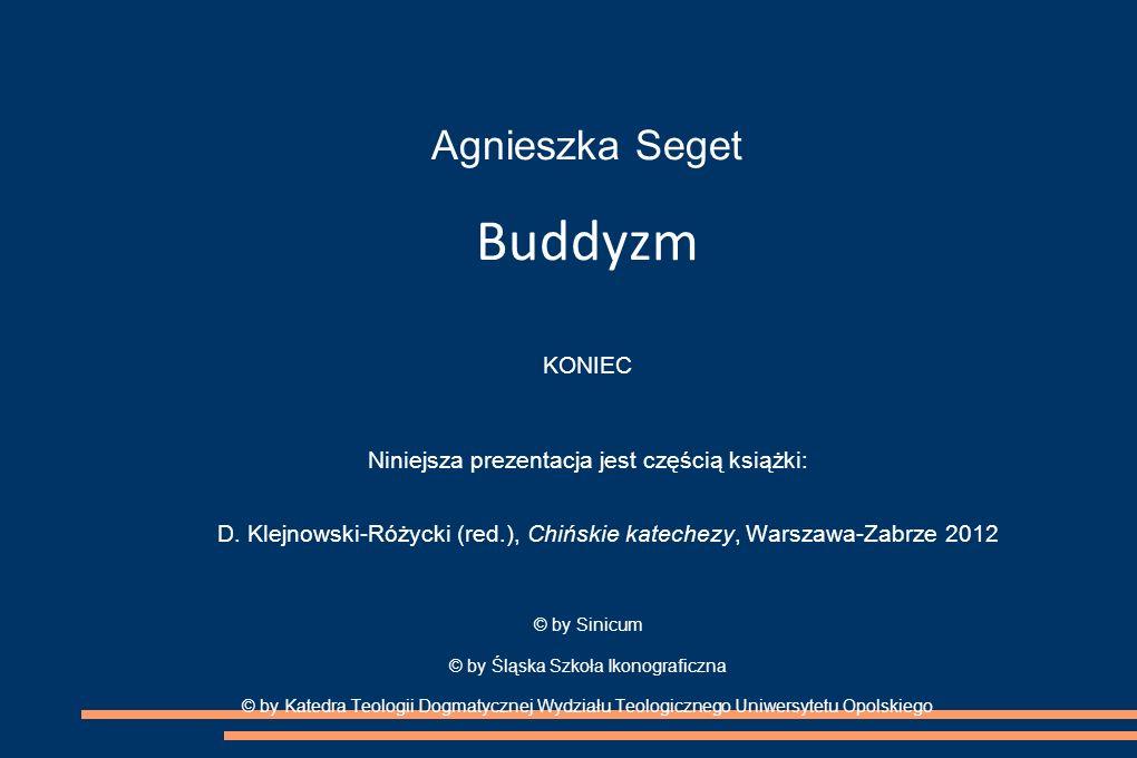 Agnieszka Seget Buddyzm KONIEC