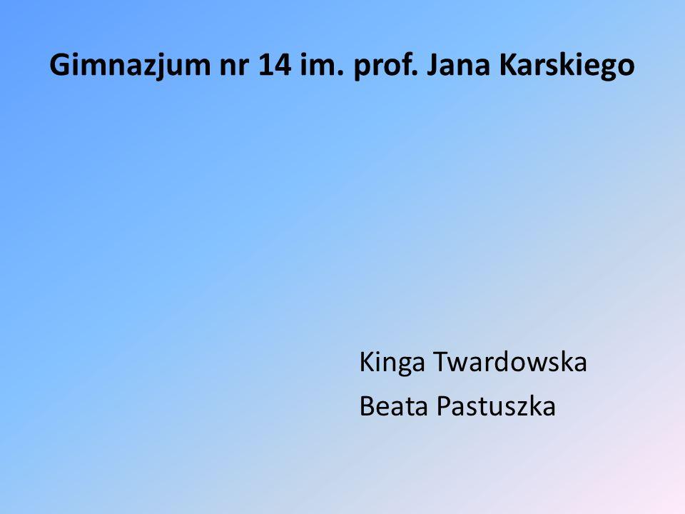 Gimnazjum nr 14 im. prof. Jana Karskiego