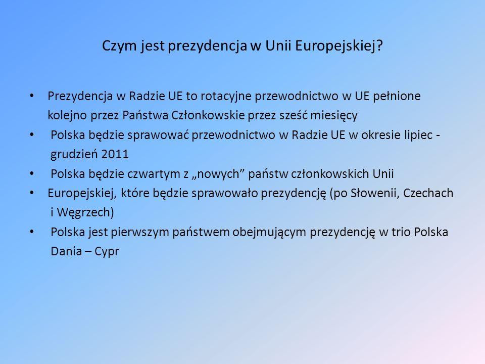 Czym jest prezydencja w Unii Europejskiej
