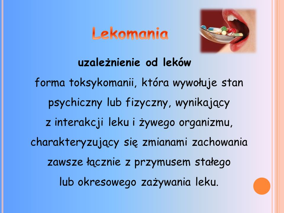 Lekomania