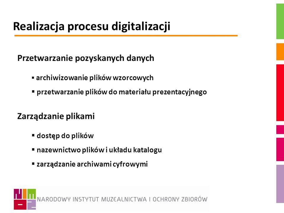 Realizacja procesu digitalizacji
