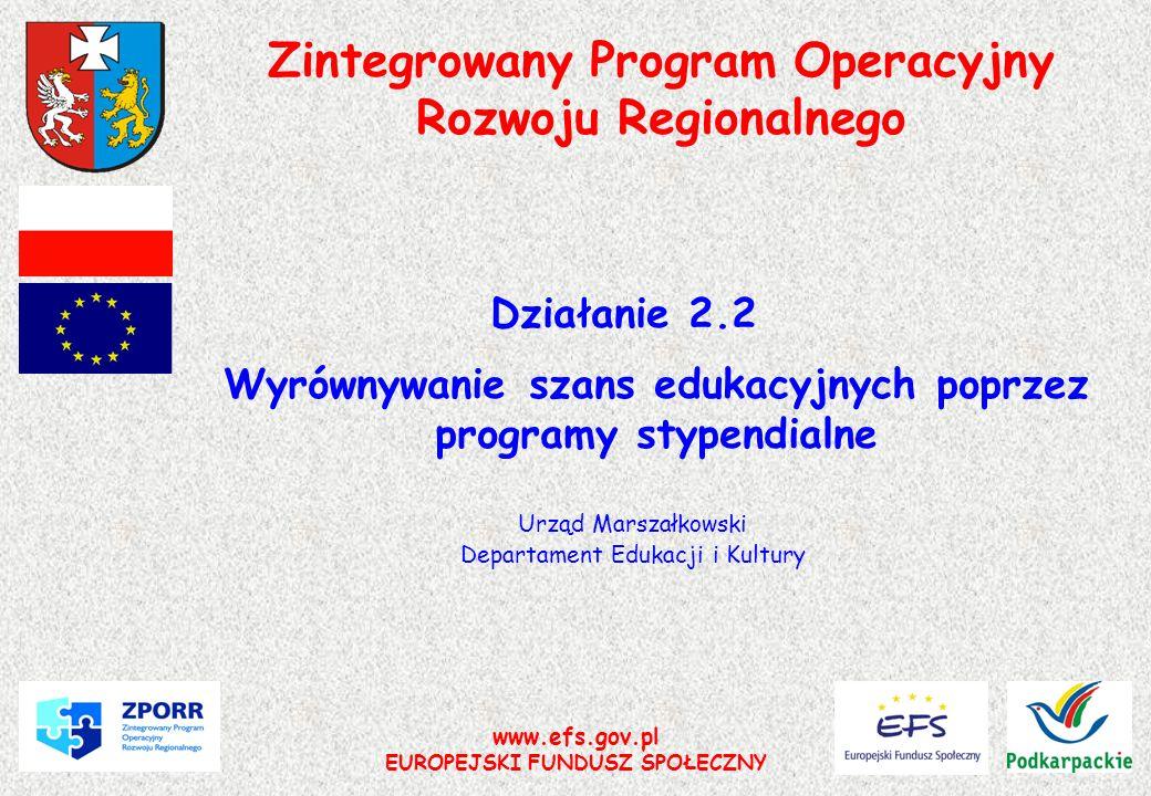 Zintegrowany Program Operacyjny Rozwoju Regionalnego