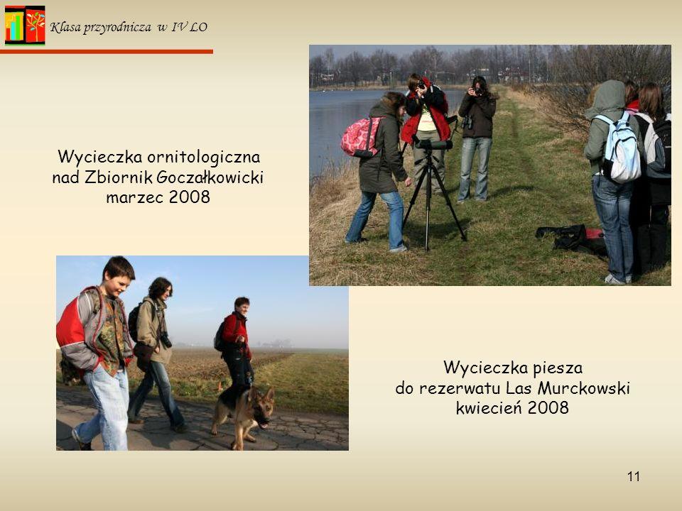 Wycieczka ornitologiczna nad Zbiornik Goczałkowicki marzec 2008