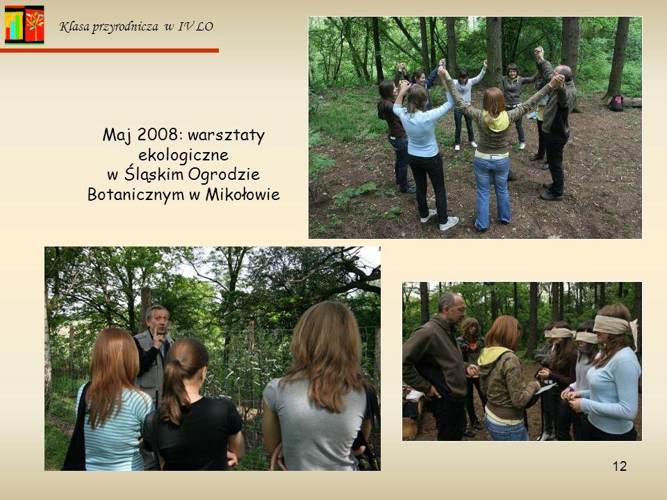 Maj 2008: warsztaty ekologiczne