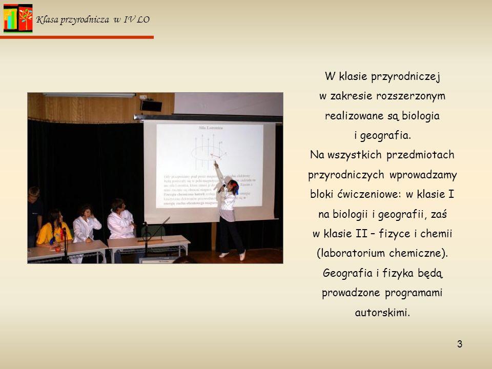 Geografia i fizyka będą prowadzone programami autorskimi.