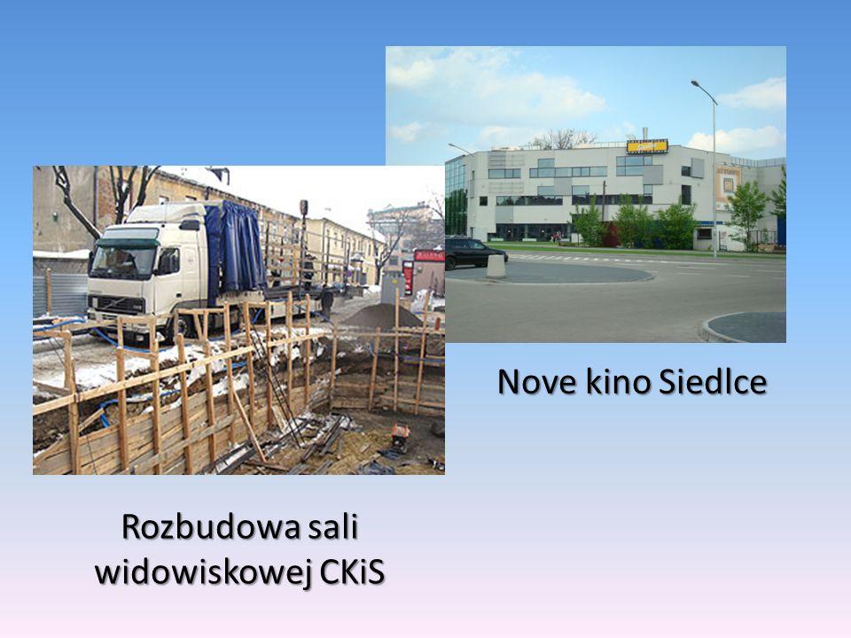 Rozbudowa sali widowiskowej CKiS
