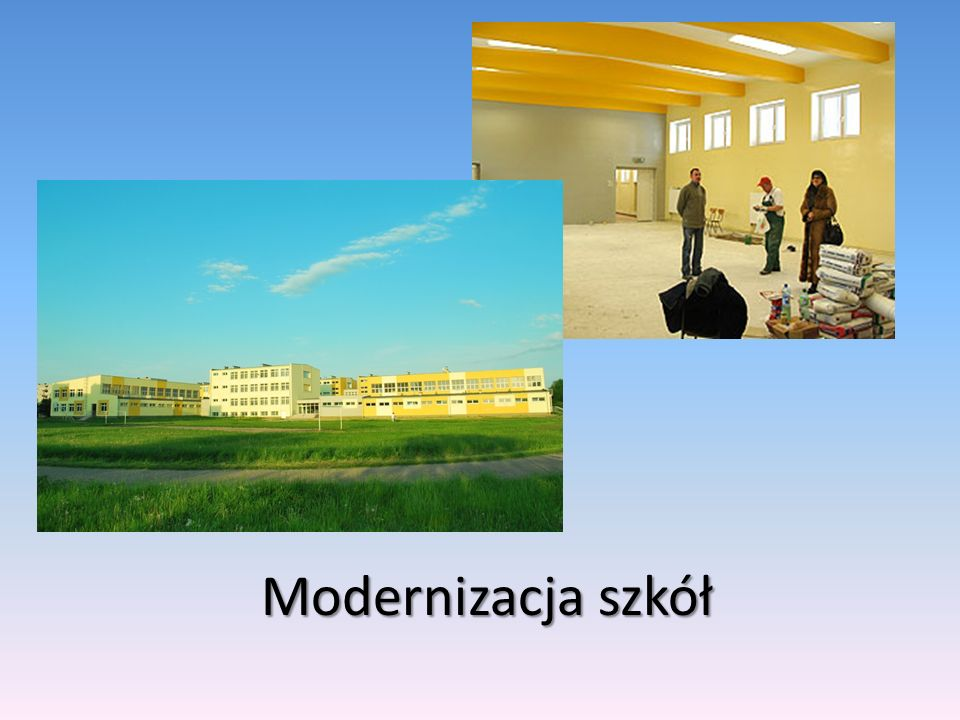 Modernizacja szkół