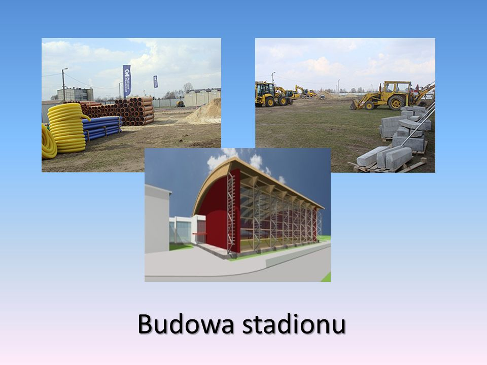 Budowa stadionu