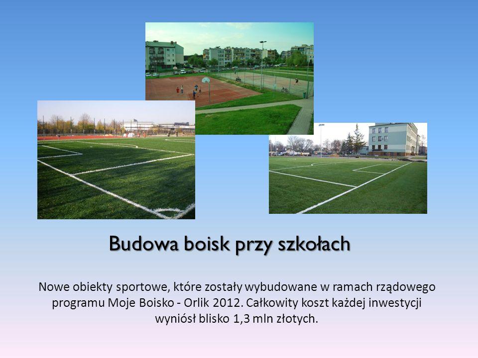 Budowa boisk przy szkołach