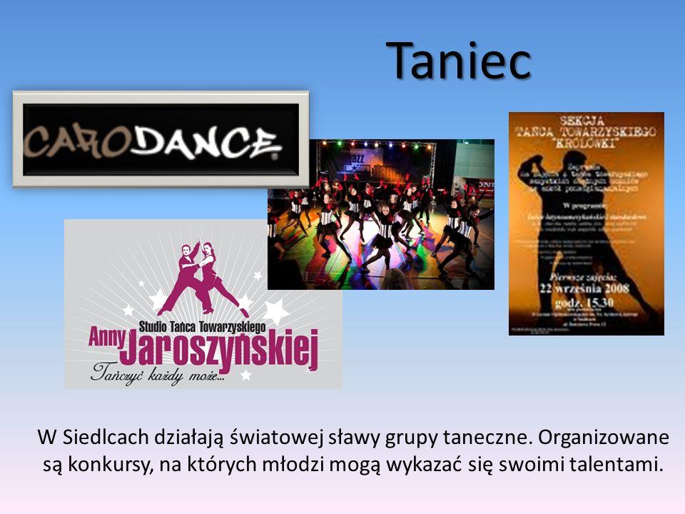 Taniec W Siedlcach działają światowej sławy grupy taneczne.