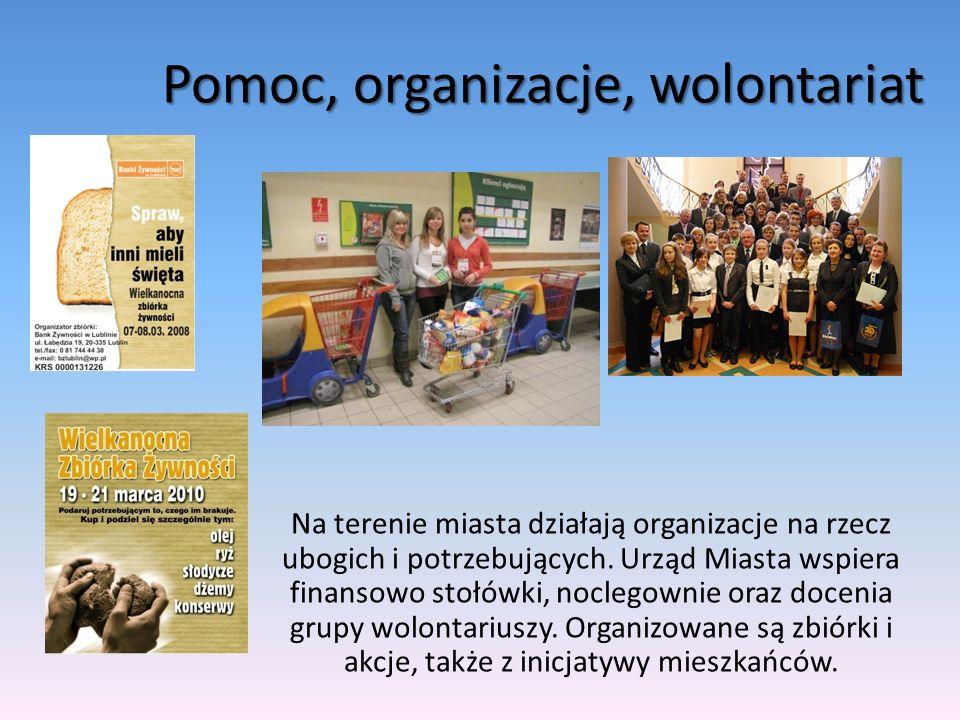 Pomoc, organizacje, wolontariat