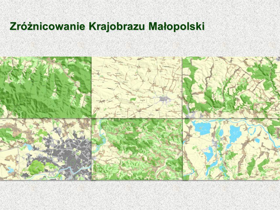 Zróżnicowanie Krajobrazu Małopolski
