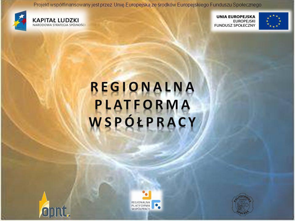 Regionalna Platforma współpracy