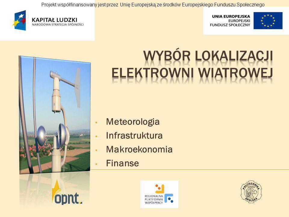 Wybór lokalizacji elektrowni wiatrowej