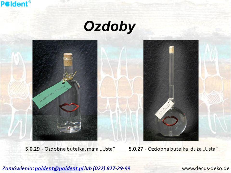 "Ozdoby 5.0.29 - Ozdobna butelka, mała ""Usta"