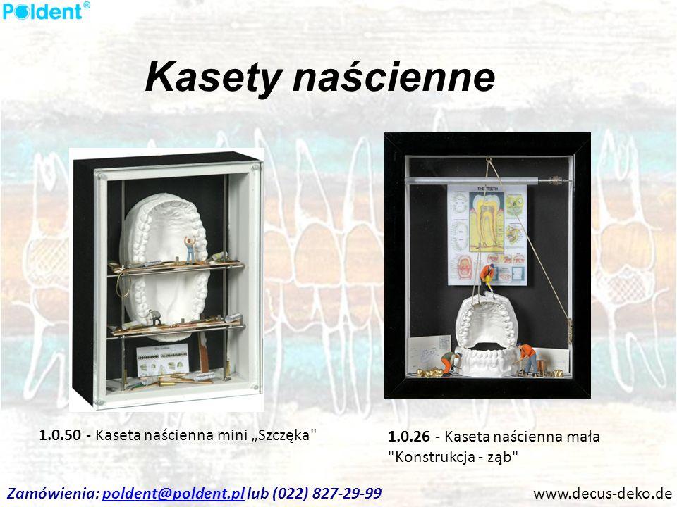 """Kasety naścienne 1.0.50 - Kaseta naścienna mini """"Szczęka"""