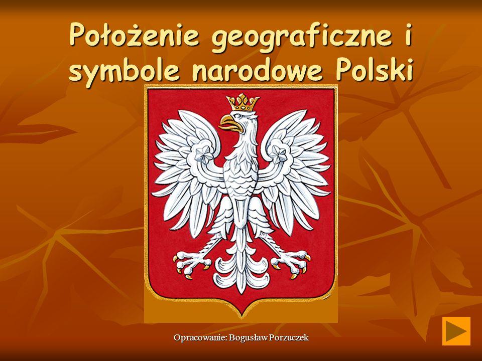 Położenie geograficzne i symbole narodowe Polski