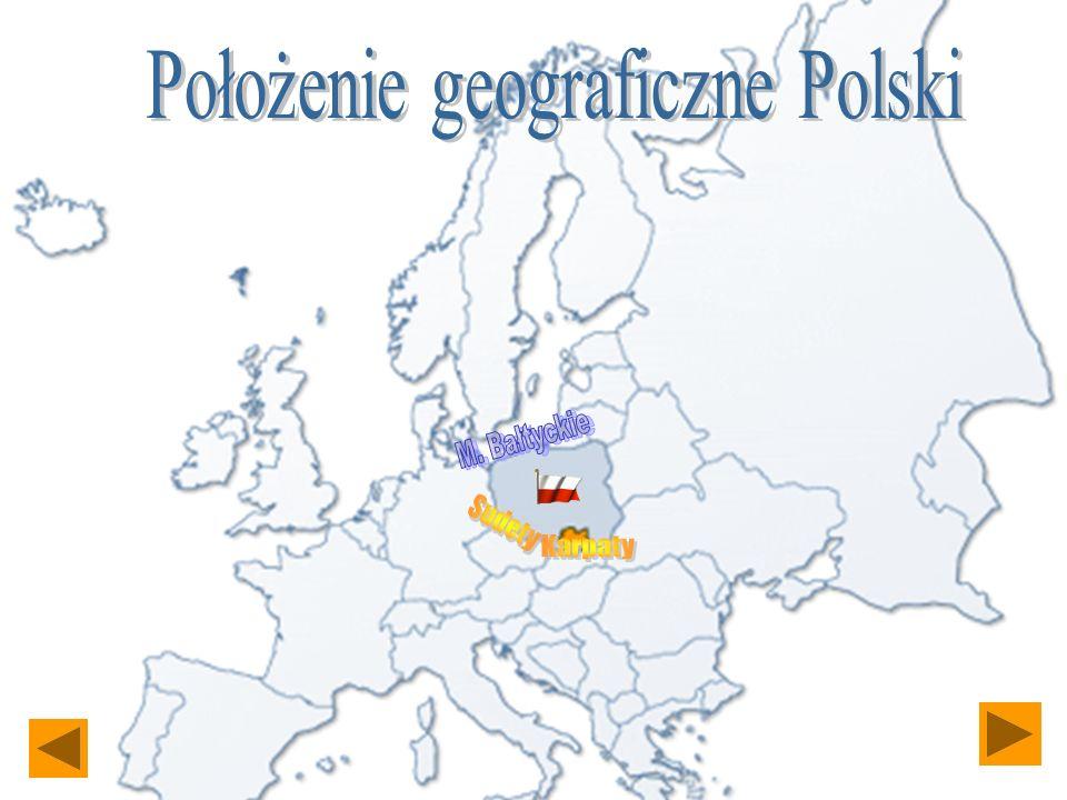 Położenie geograficzne Polski