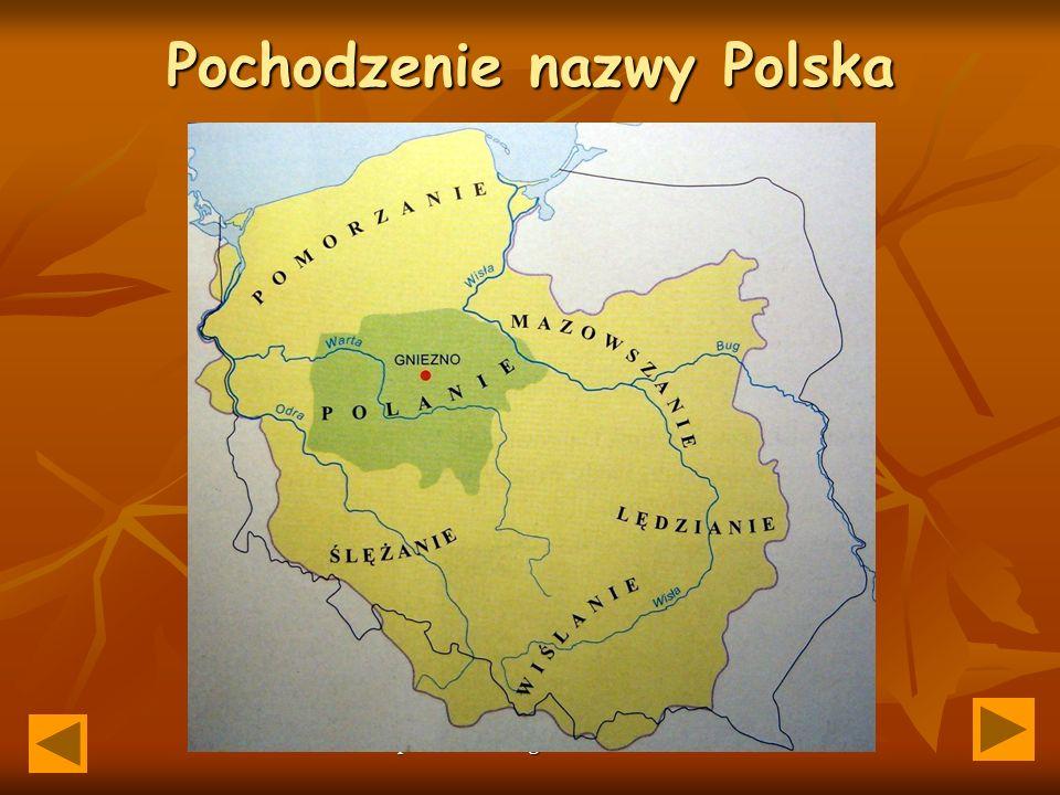 Pochodzenie nazwy Polska