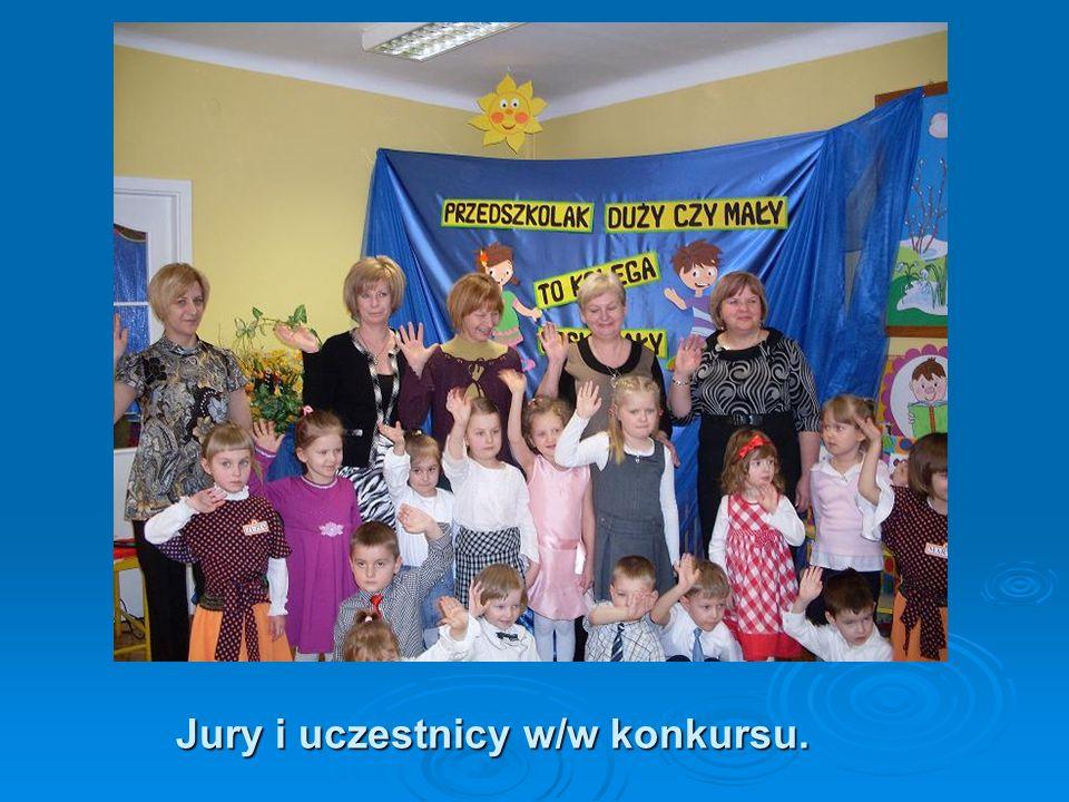 Jury i uczestnicy w/w konkursu.
