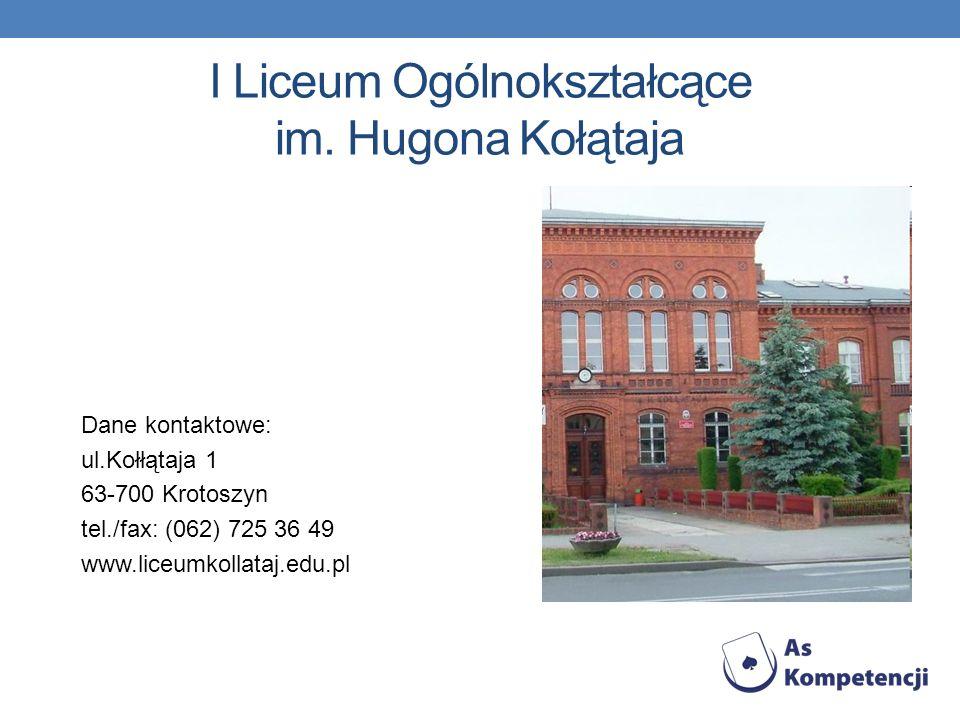 I Liceum Ogólnokształcące im. Hugona Kołątaja