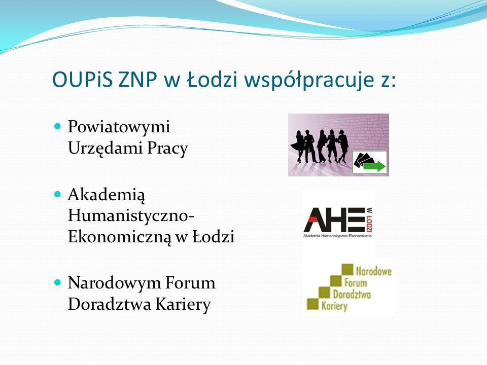OUPiS ZNP w Łodzi współpracuje z: