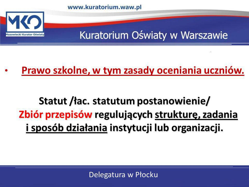 Statut /łac. statutum postanowienie/