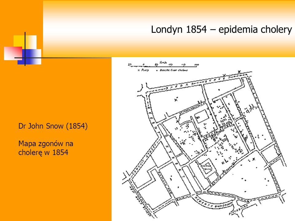 Londyn 1854 – epidemia cholery