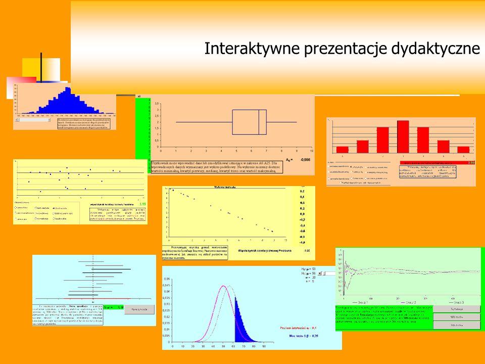 Interaktywne prezentacje dydaktyczne