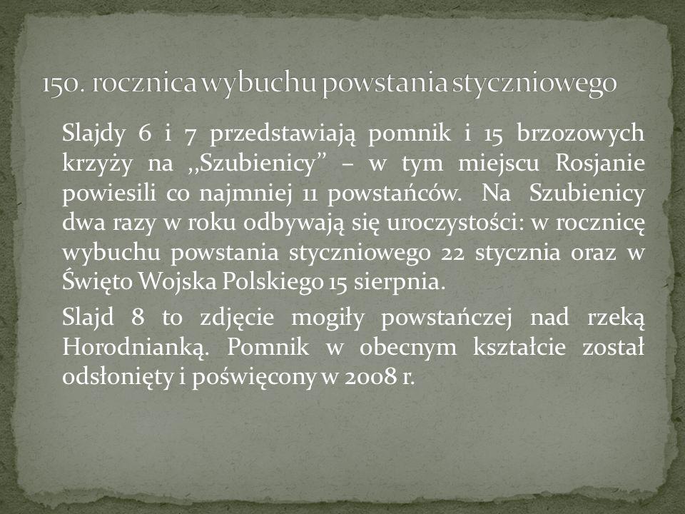 150. rocznica wybuchu powstania styczniowego