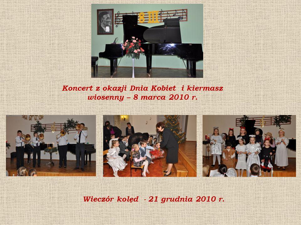 Koncert z okazji Dnia Kobiet i kiermasz wiosenny – 8 marca 2010 r.