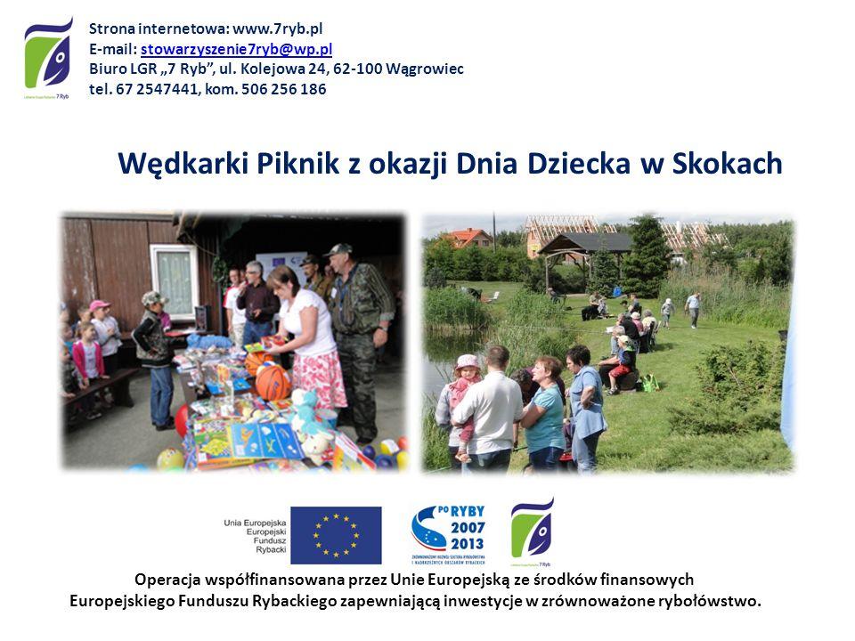 Wędkarki Piknik z okazji Dnia Dziecka w Skokach