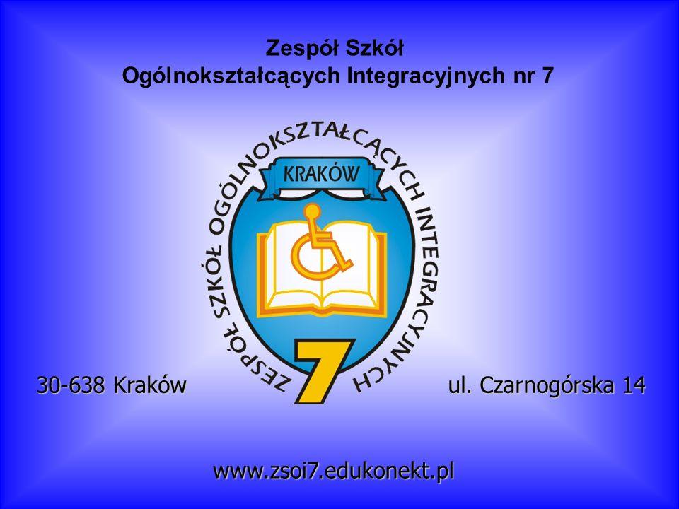 Ogólnokształcących Integracyjnych nr 7