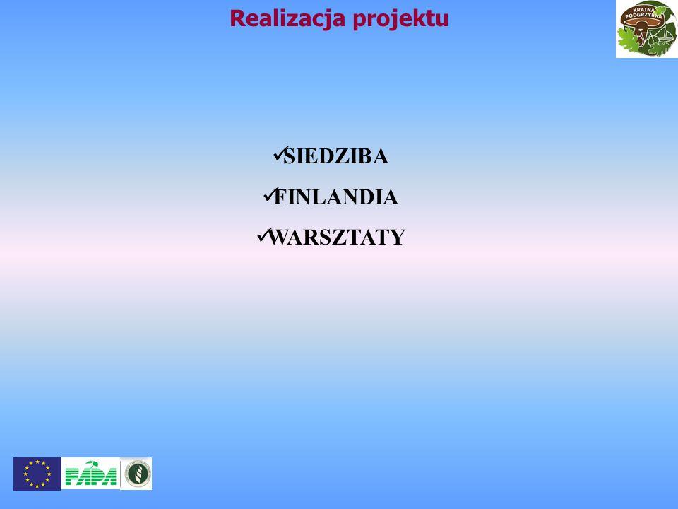 Realizacja projektu SIEDZIBA FINLANDIA WARSZTATY