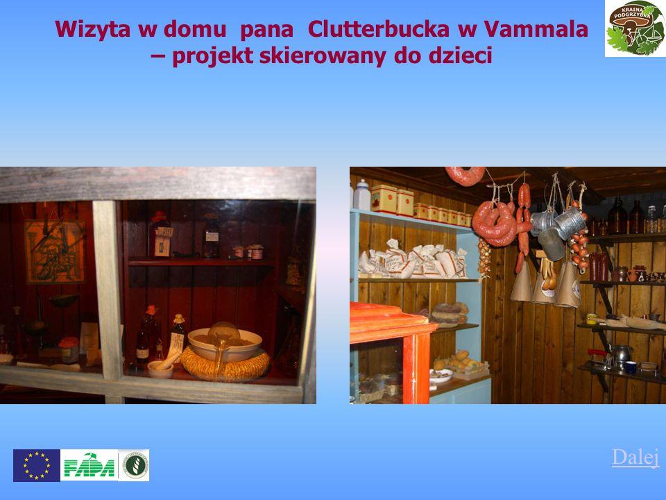 Wizyta w domu pana Clutterbucka w Vammala – projekt skierowany do dzieci