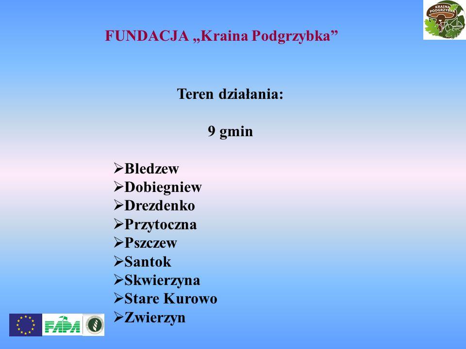 """FUNDACJA """"Kraina Podgrzybka"""