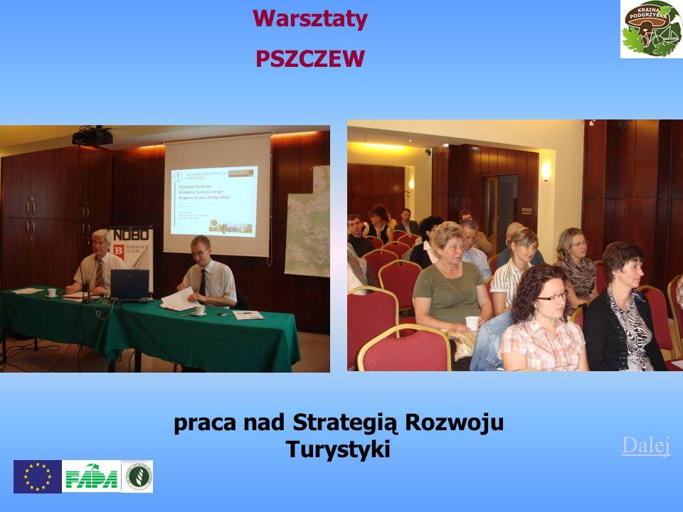 praca nad Strategią Rozwoju Turystyki