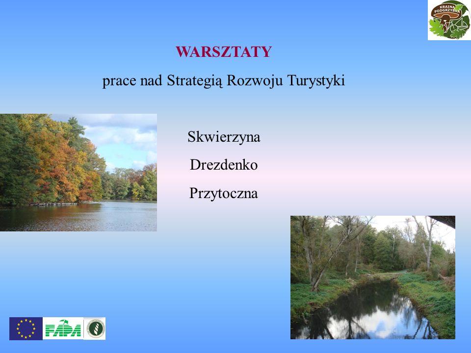 prace nad Strategią Rozwoju Turystyki