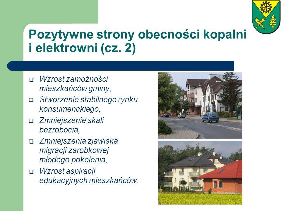 Pozytywne strony obecności kopalni i elektrowni (cz. 2)
