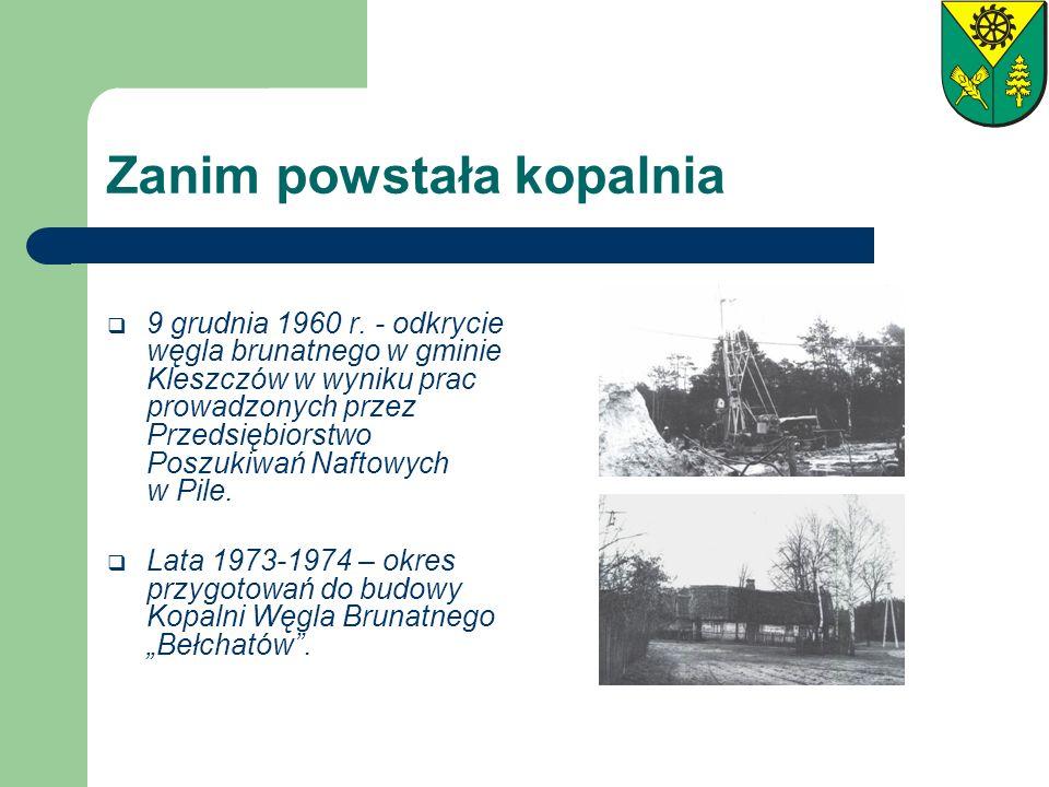 Zanim powstała kopalnia