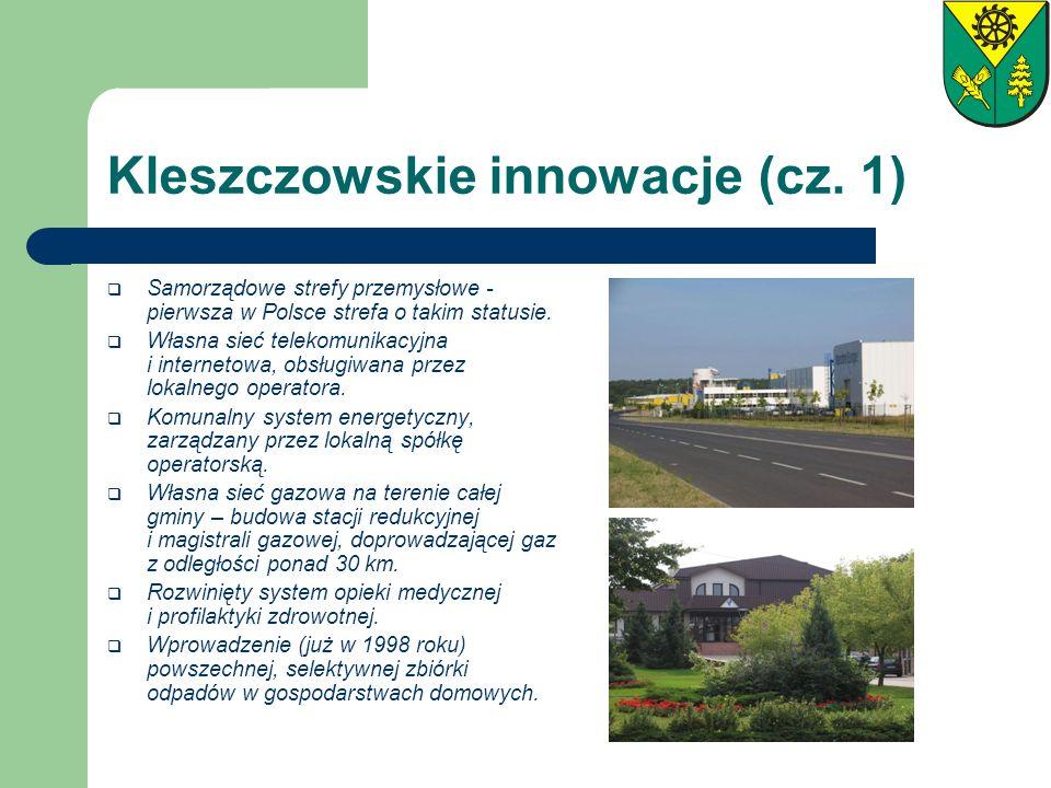 Kleszczowskie innowacje (cz. 1)