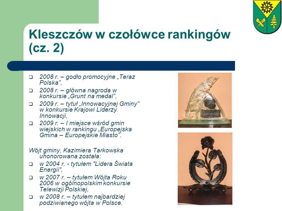 Kleszczów w czołówce rankingów (cz. 2)