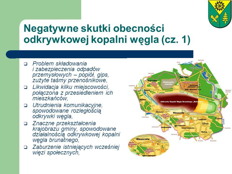 Negatywne skutki obecności odkrywkowej kopalni węgla (cz. 1)