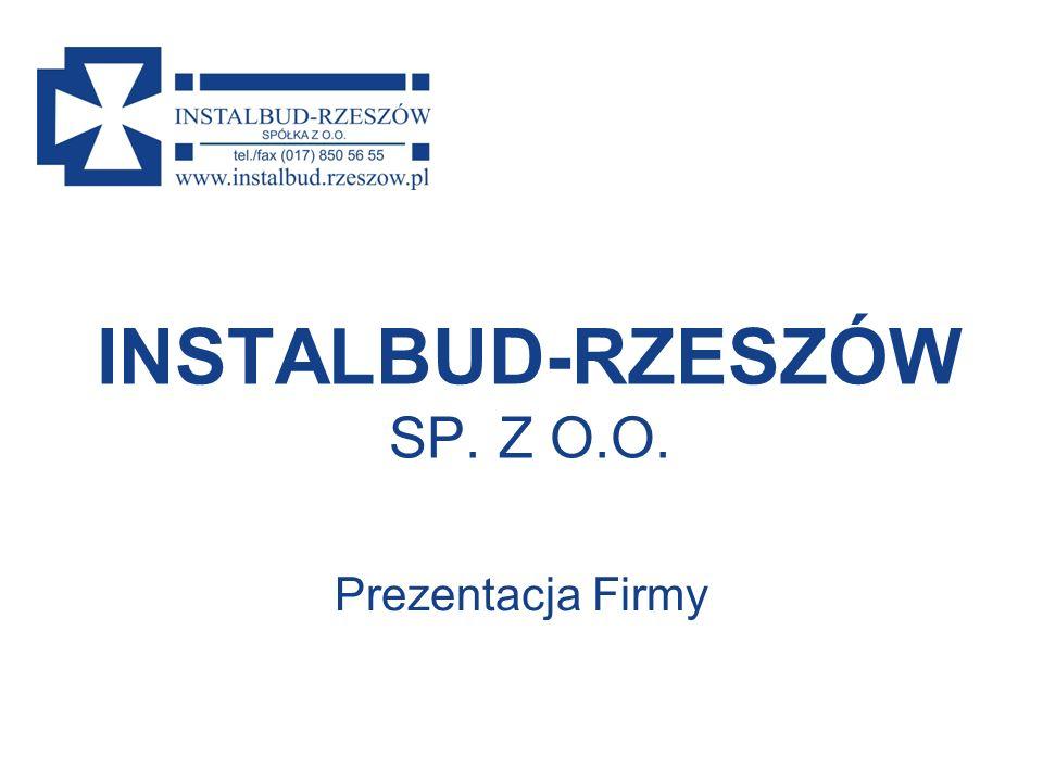 INSTALBUD-RZESZÓW SP. Z O.O.