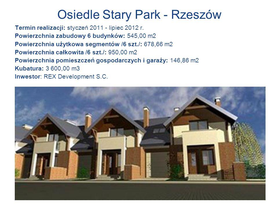 Osiedle Stary Park - Rzeszów