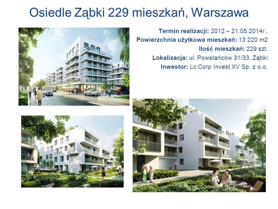 Osiedle Ząbki 229 mieszkań, Warszawa