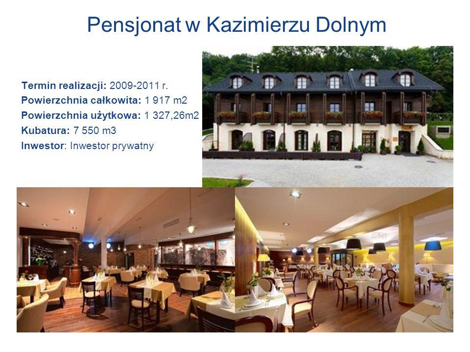 Pensjonat w Kazimierzu Dolnym